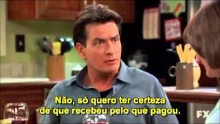 Charlie Sheen - Anger Management / Tratamento de Choque - Best Scene / Melhor Cena