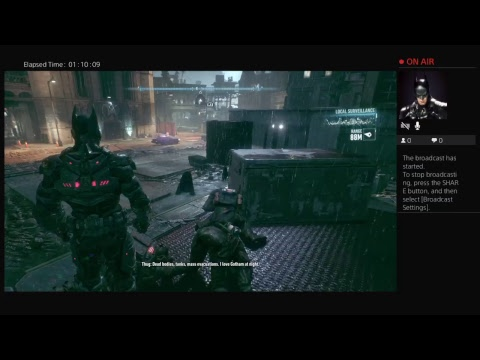 kevinmoza's Live PS4 Broadcast make up your mind about watching it everyone or else