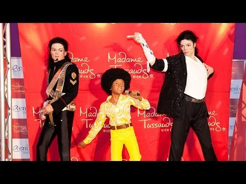 Dreifacher King of Pop: Michael Jackson bei Madame Tussauds