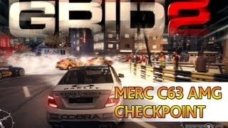 [TTB] GRID 2 Gameplay PS3 - Mercedes C 63 AMG - Checkpoint Race!