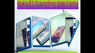 Nokia Launching Android Smartphones in 2017 with good specifications and price nokia c1 and nokia e1.