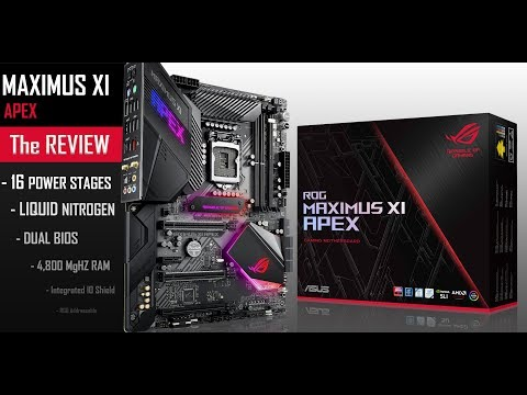 ROG MAXIMUS XI APEX : reviewing a world champion!
