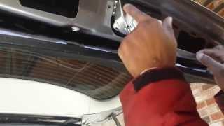 Mercedes Trunk Actuator (lock) Replacement Diy