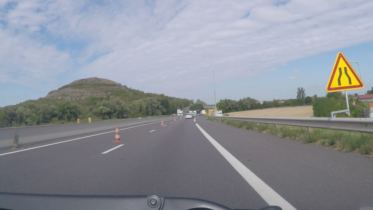 france by autoroute a75 a71 clermont ferrand northbound youtube. Black Bedroom Furniture Sets. Home Design Ideas