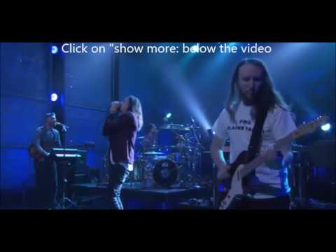 """Incubus performed """"State Of The Art"""" on 'Conan"""" of """"8"""" May 8th"""