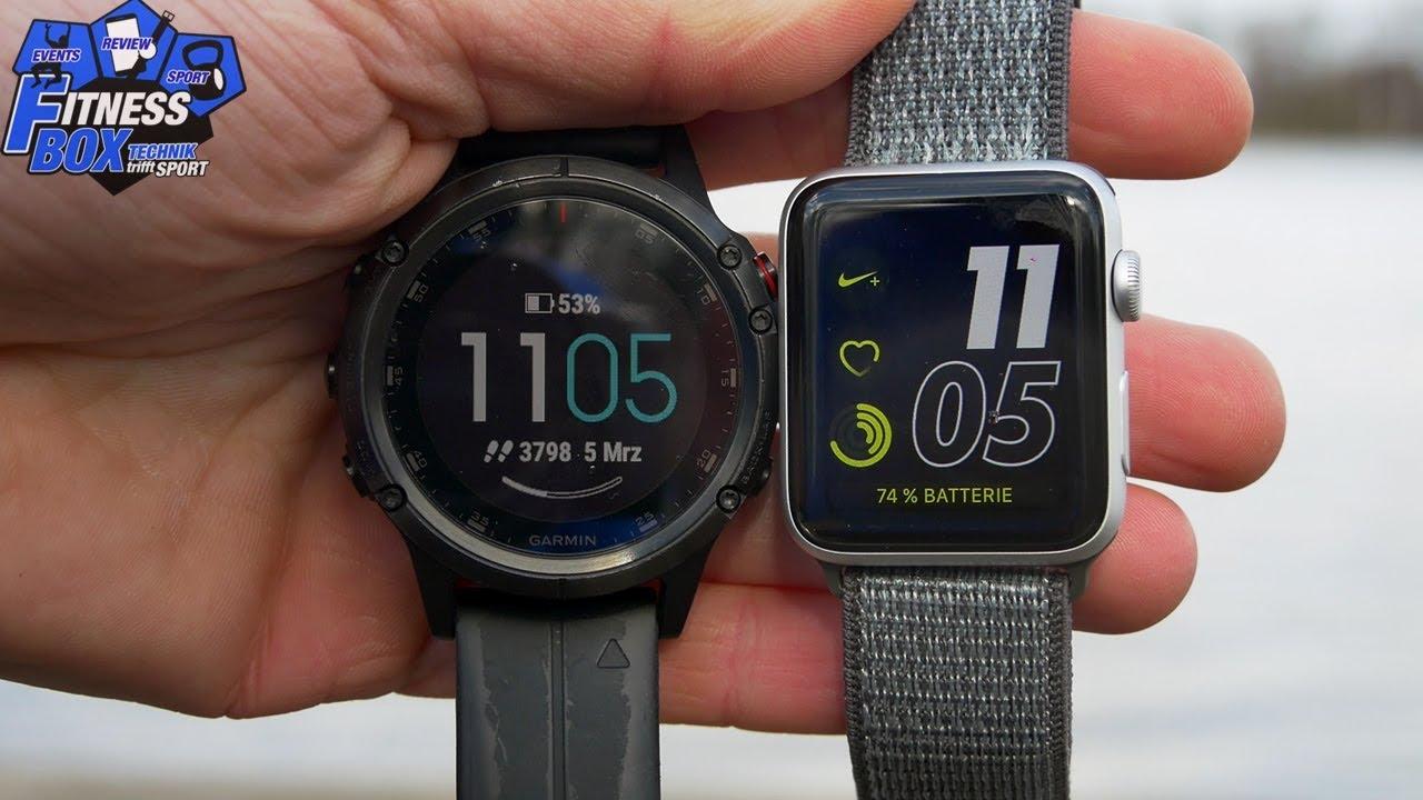 Sportuhren Garmin : Garmin sportuhr oder apple watch wer liefert genauere daten im