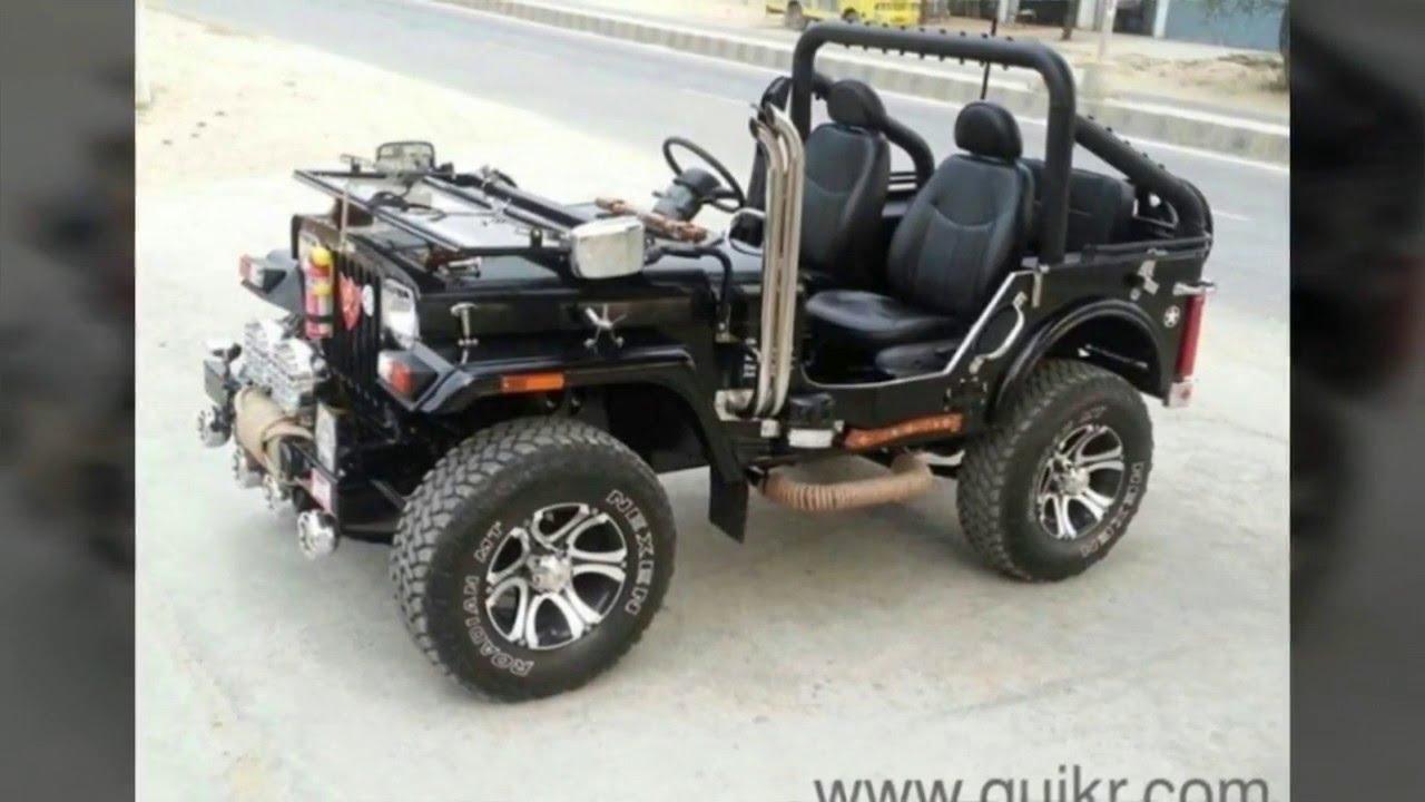 Classic jeep models