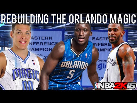 NBA 2K16 MyLEAGUE: Rebuilding the Orlando Magic!