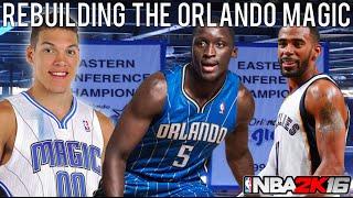 NBA 2K16 MyLEAGUE: Rebuilding the Orlando Magic!
