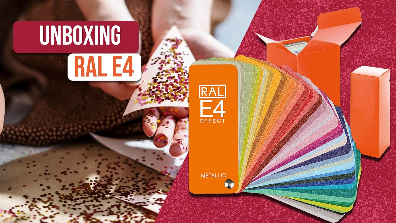 Unboxing Ral D2 Ral Design Shade Card Ral Design System Plus Colours Fan Deck Youtube