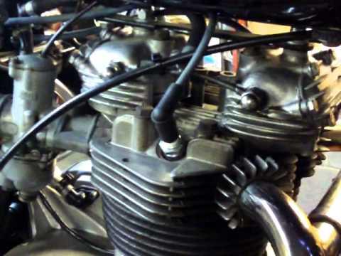 Oakys Garage 1976 Triumph 750 Bonneville T 140 T140 Youtube