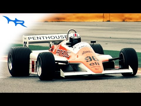 1982 Arrows A4 DFV V8 F1 Sound at Spa (Start-up & Accelerations & Downshifts)