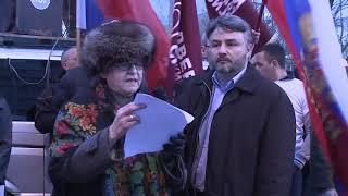 2014.03.07 - Братья Сербы за русских в Крыму!!!