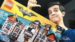 LEGO Batman: ЛЕЧЕБНИЦА АРКХЭМ - Набор На Обзор (70912)