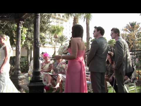 Omni Orlando Resort Gazebo Wedding