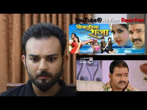 Pakistani Reacts | BHOJPURIYA RAJA Trailer | Pawan Singh | Kajal Raghwani | BHOJPURI MOVIE