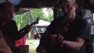 Shortening Bread (g) - Dan Gellert Fiddle - Clifftop 2013 - Oldtime Jam