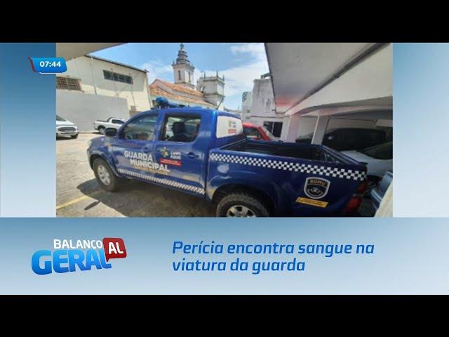 Perícia encontra sangue na viatura da guarda de Campo Alegre
