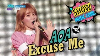 [HOT] AOA - Excuse Me, 에이오에이 - 익스큐즈미 Show Music core 20170121