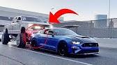 Mustang CRASH!!! Leaving SEMA 2019! B is for Build Huracan!