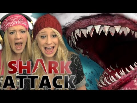 BLOOD IN THE WATER! | Shark Attack DeathMatch 2