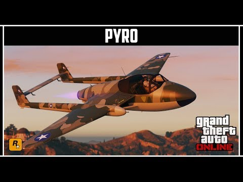 GTA Online: Новый и самый быстрый самолет Pyro