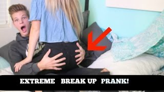 BREAKING UP WITH MY GIRLFRIEND ON OUR ANNIVERSARY PRANK! (GONE EXTREMELY WRONG) *CRYING*