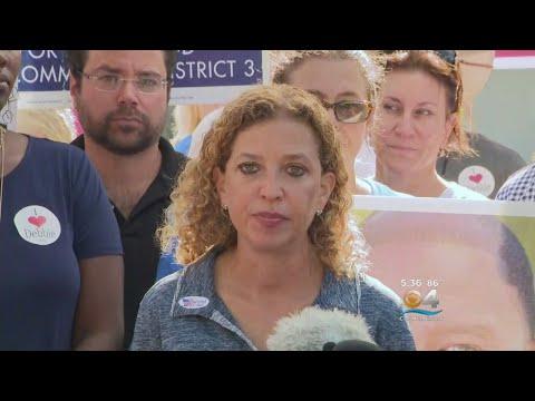 Congresswoman Debbie Wasserman Schultz Reacts To Mail Bomb Suspect's Arrest