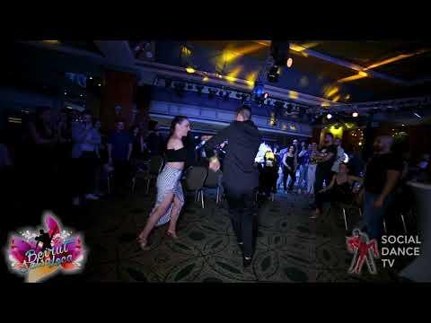 Panagiotis Aglamisis & Ana García - Salsa social dancing   Beirut Salsa Loca 2018