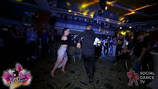 Panagiotis Aglamisis & Ana García - Salsa social dancing | Beirut Salsa Loca 2018