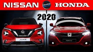 Hadir Dengan Tampang Baru! Begini Kemewahan Nissan Juke dan Honda HRV Generasi Terbaru di Tahun 2020