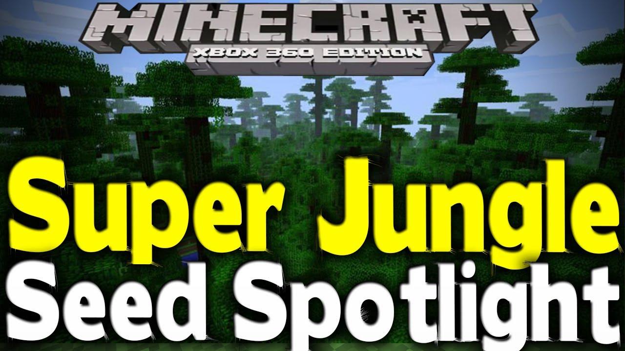 "Minecraft Xbox 11 - ""SUPER JUNGLE"" BIOME (11% Jungle) [TU11 Seed Spotlight]"