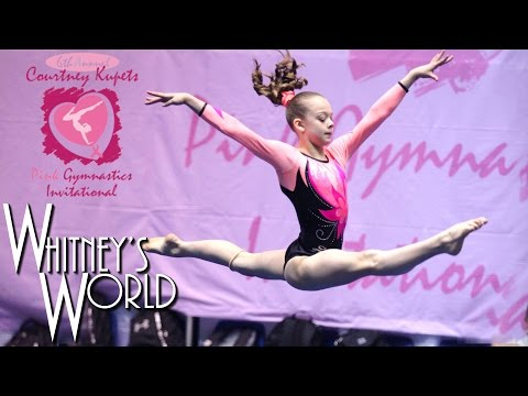 Whitney Bjerken | 6th Level 8 Gymnastics Meet | All Around Champion