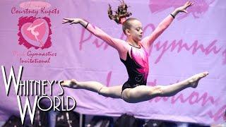 Whitney Bjerken | 6th Level 8 Gymnastics Meet | All Around Champion