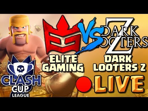 ELITE GAMING vs DARK LOOTERS Z | 🔴 Clash of Clans LIVE!