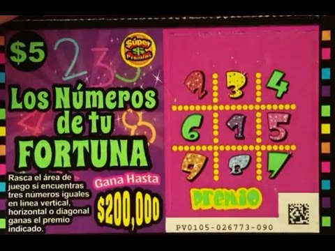 Mexico Lottery Tickets!