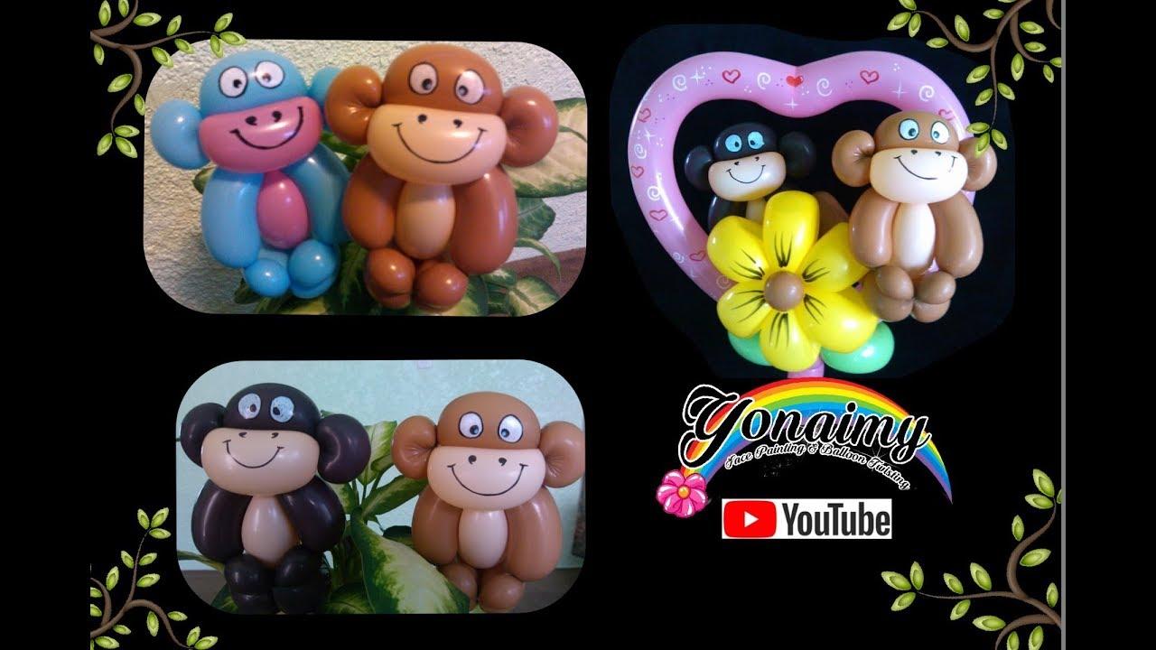 Balloon Animals Monkey