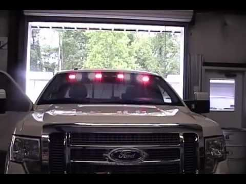 Undercover visor led lightbar youtube undercover visor led lightbar aloadofball Gallery