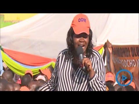 Gladys Wanga speech at the NASA rally in Nairobi