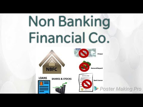 Non-Banking Financial companies || NBFC || IN Hindi
