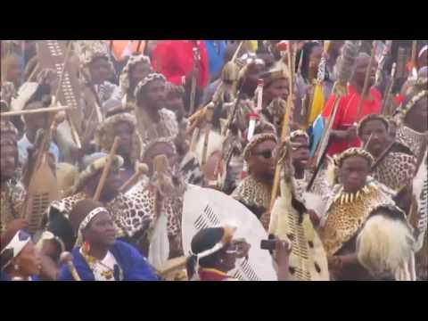 Shaka Zulu - We are growing! Margaret Singana (with Zulu war Dance)
