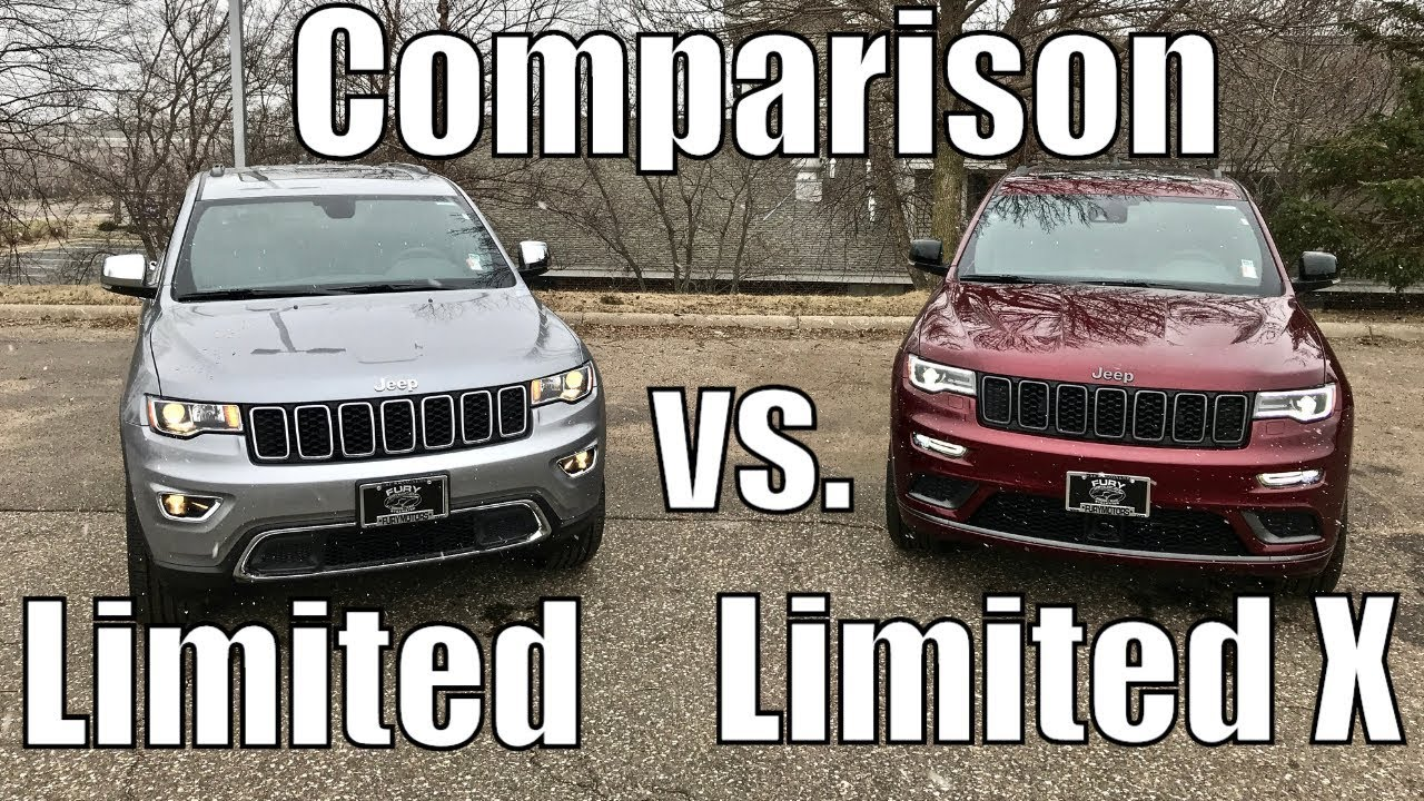 2019 Jeep Grand Cherokee Limited Vs Limited X Comparison Review