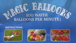 Mandi Balon Ajaib ❤ Unboxing Magic Water Balloons Challenge Toys Funny Video