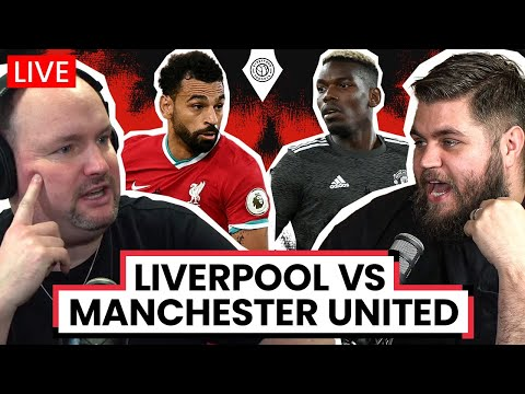 Liverpool 0-0 Manchester United | LIVE Stream Watchalong