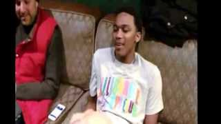 Repeat youtube video Meek mill lil snupe freestyle back stage