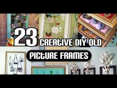 23 Creative DIY Old Picture Frames