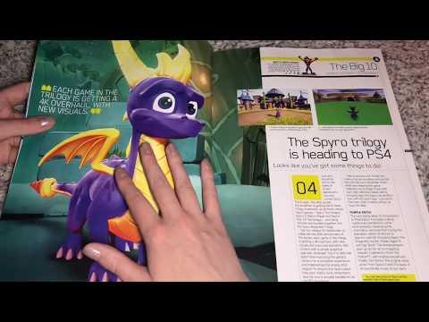 ASMR Gaming Magazine (Whispering and Page Turning)