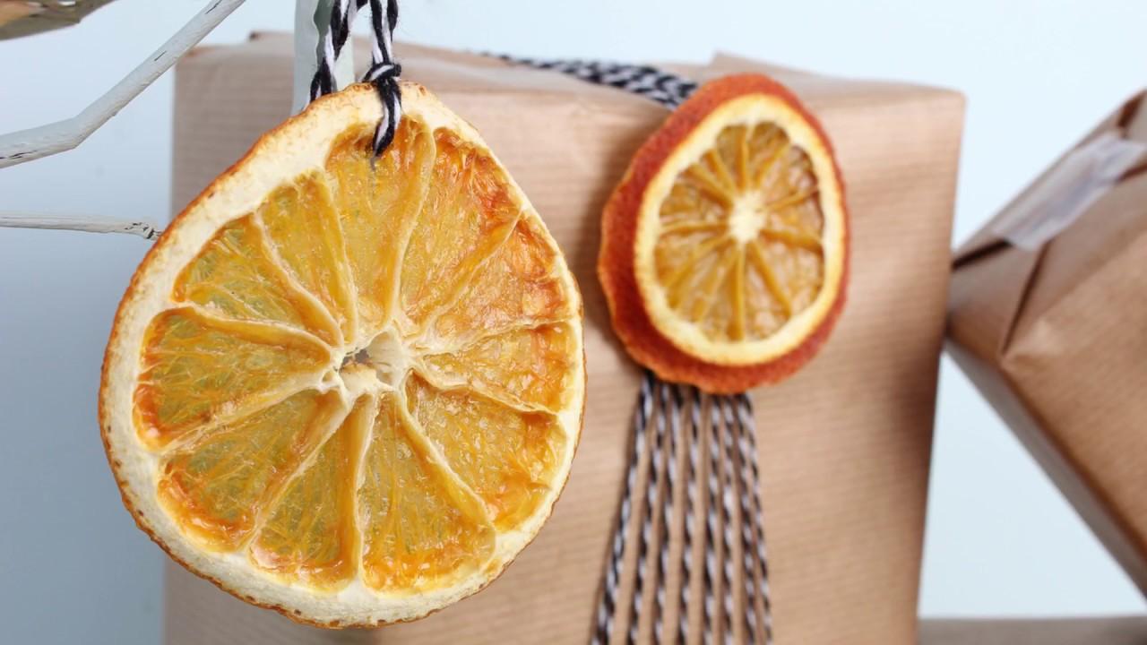 decoraciones navideñas caseras naranjas y diabetes
