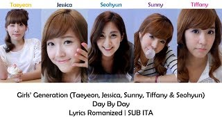 Girls' Generation - Day By Day [Lyrics Romanized | SUB ITA] - Stafaband