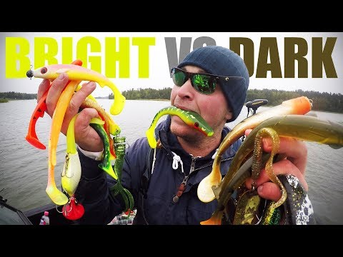 PIKE FISHING: Bright vs. Dark Lures CHALLENGE (Which color works best?)